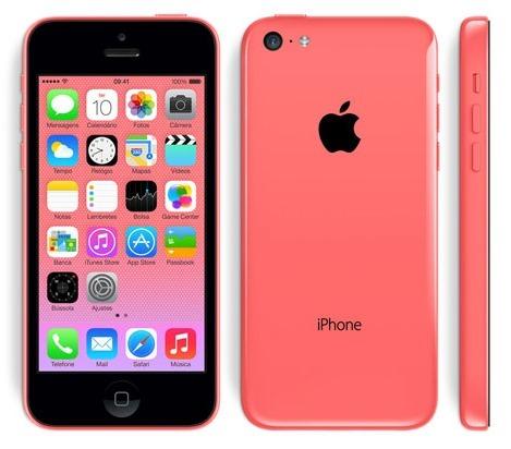moda da novela em família -iphone 5C rosa da gisele e da alice