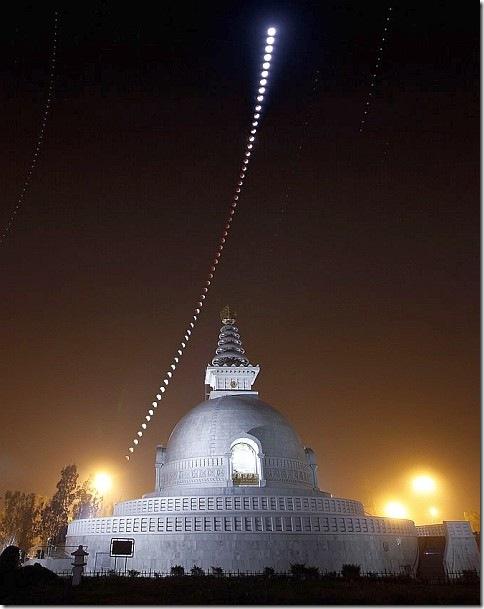 Лунное затмение – взгляд из Индии