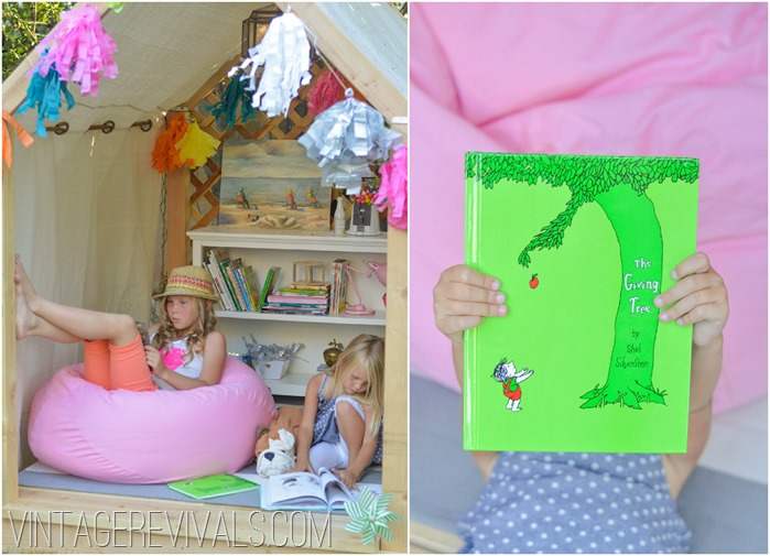 Pottery Barn Kids Summer Reading Nook