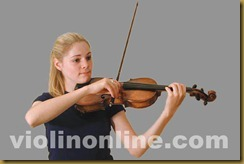 violin bow placement - frog