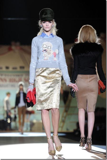 Dsquared2 Runway Milan Fashion Week Womenswear KeFrF48qqjCl