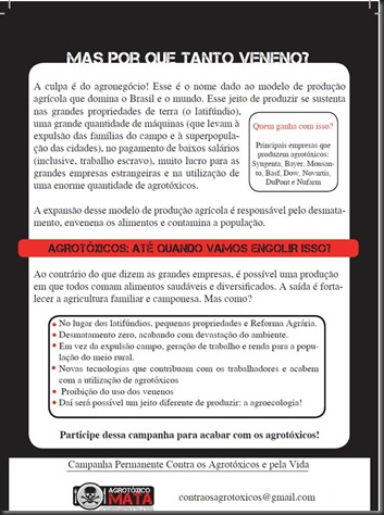 Campanha permanente contra os agrotóxicos e pela vida2