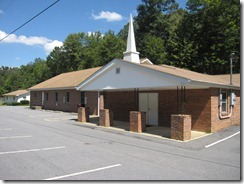 Burnette Siding church