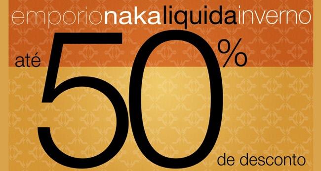emporio naka liquidacao inverno 2012 loja online