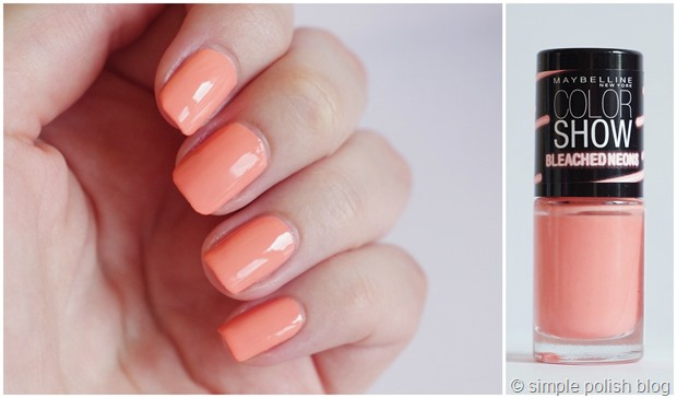 Maybelline-Bleached-Neons-Coral-Heat-5
