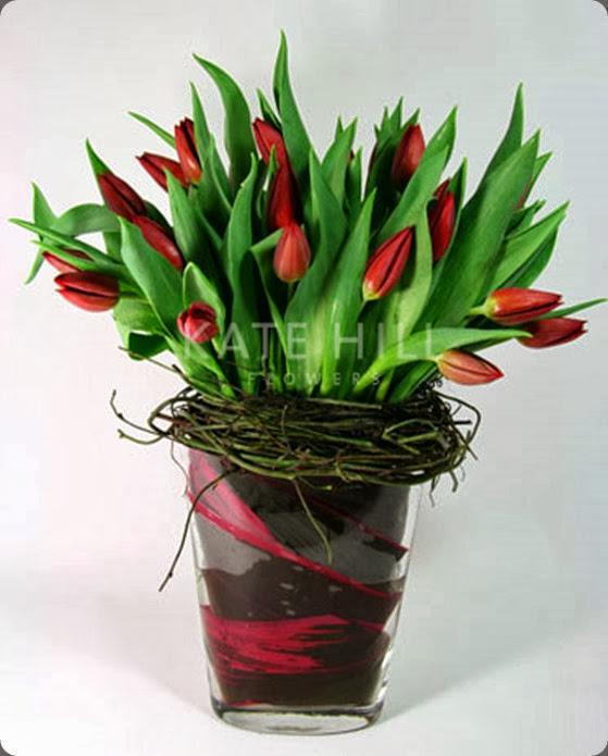 tulipredGIFT kate hill flowers