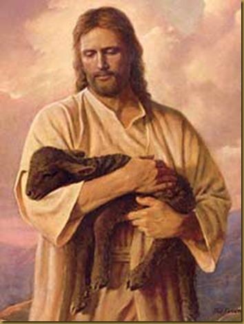 PASTOR Y OVEJA JESUS