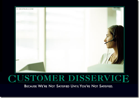 Despair.com - Customer Disservice