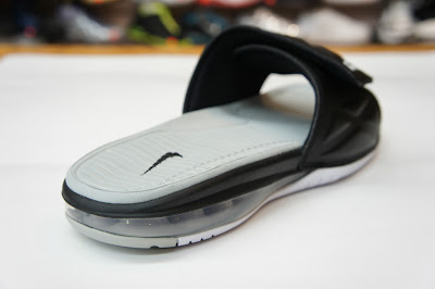 nike air lebron slide 2 black grey 1 04 Nike Air LeBron Slide 2.0   Black / Grey   Available at eBay
