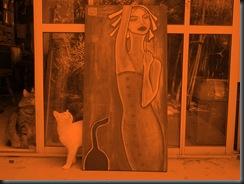 mujeres y gatos 2