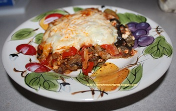 Baked Vegetarian Pasta - baked - served up II B
