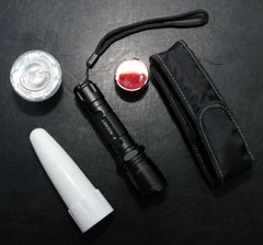 P-Rocket torch & some accessories
