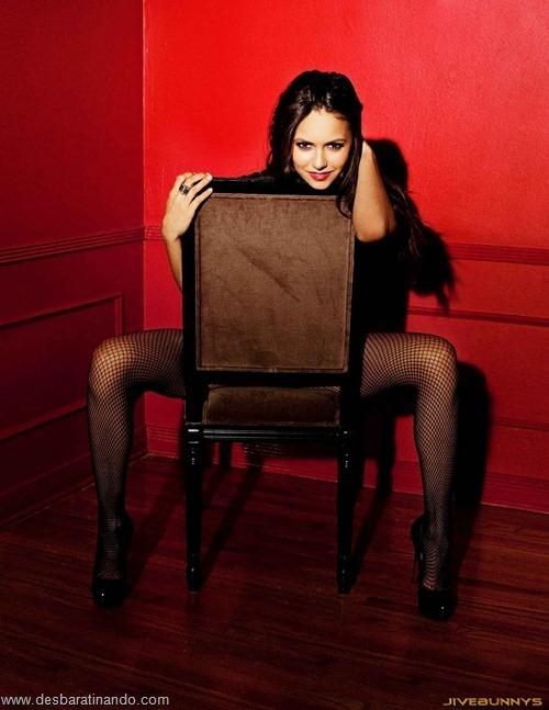 nina dobrev linda sensua sexy sedutora fotos Vampire Diaries desbaratinando (61)