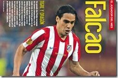 Falcao en Revista Futbolista