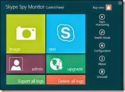 برنامج التجسس ومراقبة السكايبى Skype Spy Monitor 2014 - سكرين شوت 2