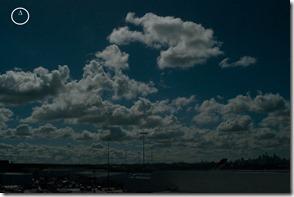 Deeper Blue in Sky
