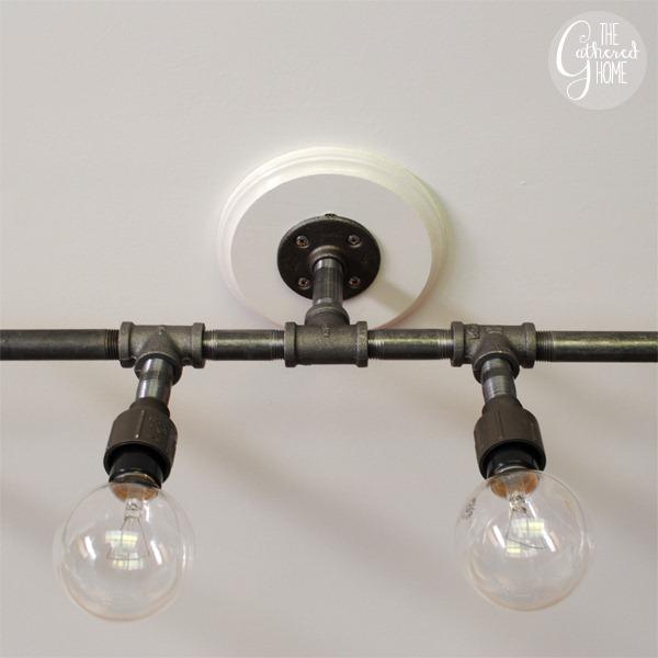 Diy plumbing pipe light fixture for Plumbing light fixtures