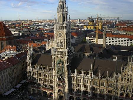 Obiective turistice Germania: Primaria din Munchen