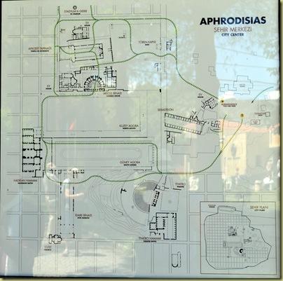 Aphrodisias Map