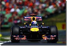 Vettel nelle qualifiche del gran premio d'Ungheria 2011
