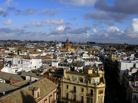 Andalusia: A view of Sevilla for Giralda tower