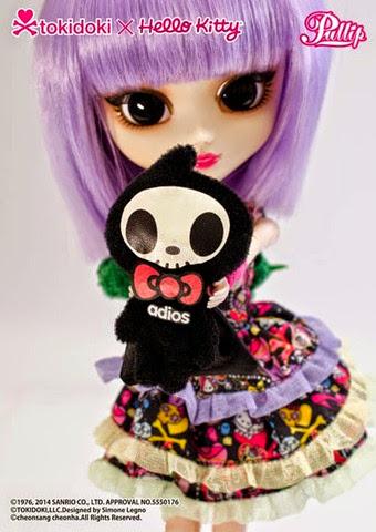 Pullip Violetta Tokidoki x Hello Kitty 15