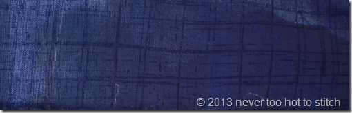 2013 thin blue stripe is a blue on blue check