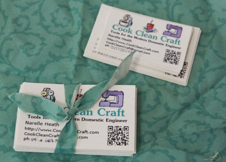 Fabric Business Cards (3)