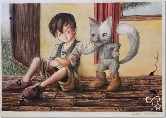 El Gato con Botas,El gato maestro,Cagliuso, Charles Perrault,Master Cat, The Booted Cat,Le Maître Chat, ou Le Chat Botté (42)