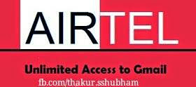 Free use gmail in airtel 100% working