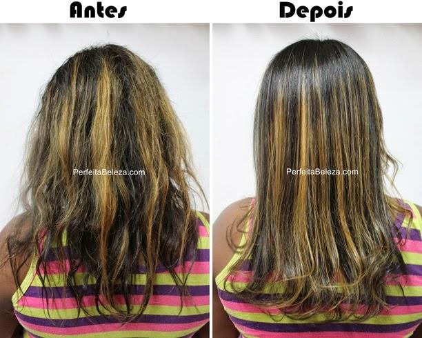 antes e depois bio keratine néctar, néctar brasil, bio keratine