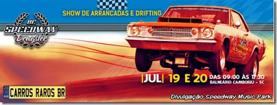 Speedway BC Dragster banner