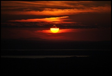 06f - Sunset - from pulloff -