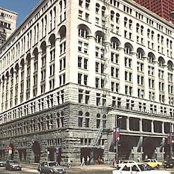 24 - Sullivan y Adler - Auditorium Building de Chicago (exterior)
