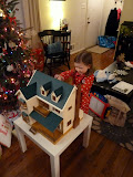 Calico Critters dollhouse from Santa! (December)