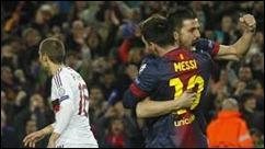Barcelona 4 - AC Milán  0 en partido de vuelta