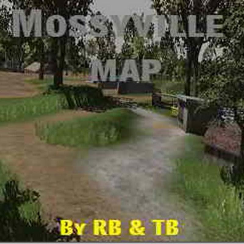 Farming simulator 2011 - Mossyville map
