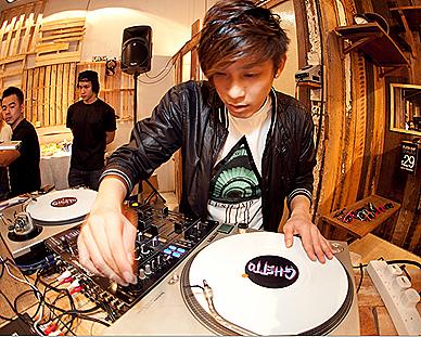 DJ Ghetto Flesh Imp Singapore Scape