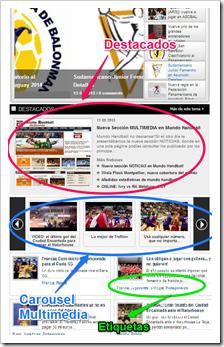 Cambios en el diseño | Mundo Handball