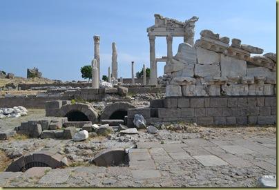 Pergamon Temple Trajan Vaulting