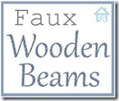 diy faux wooden beam lbl