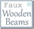 diy faux wooden beam lbl