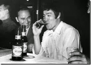 Bruce Lee y Ellis Perez 1970