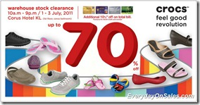 Crocs-warehouse-stock-clearance-2011-EverydayOnSales-Warehouse-Sale-Promotion-Deal-Discount