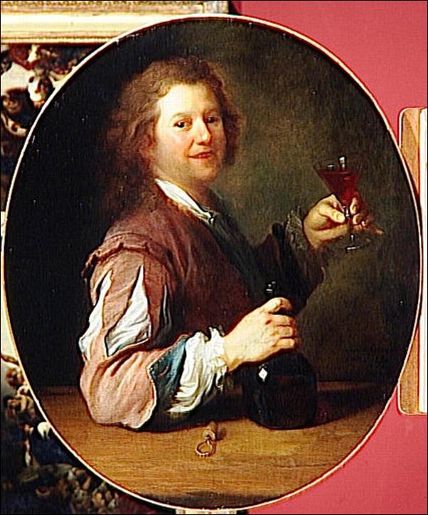 Alexis Grimou, Portrait de l'artiste en buveur