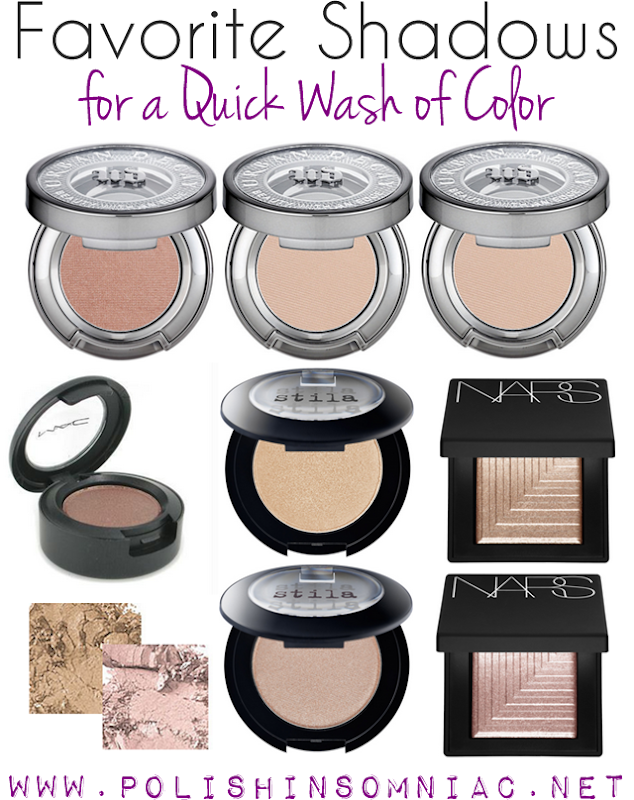 Favorite Shadows for a Quick Wash of Color