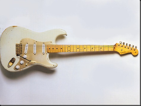 David Gilmours Fender Stratocaster Guitar