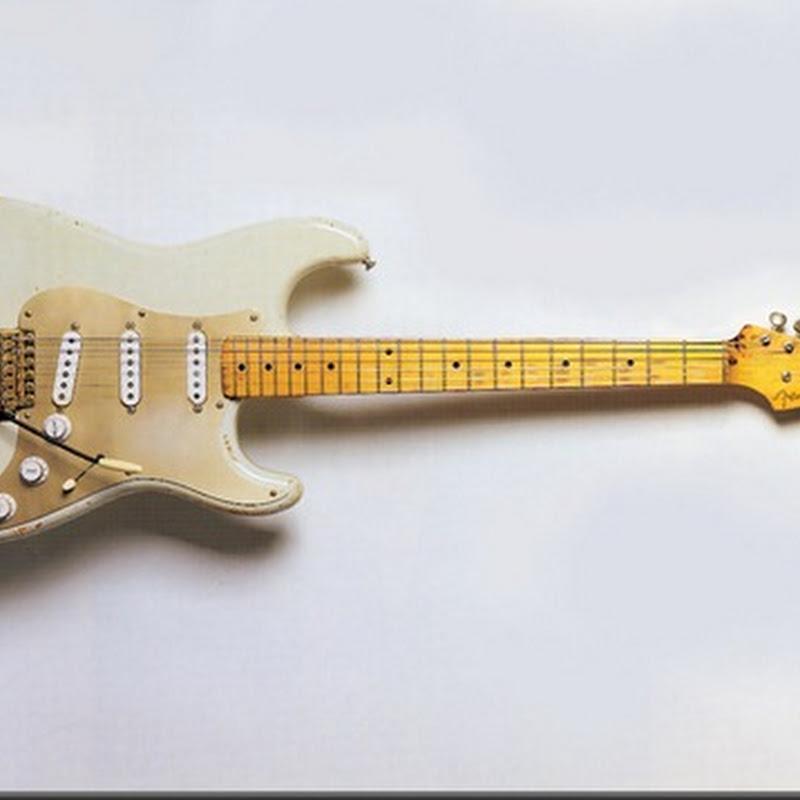 Controles de volumen y tono en una Stratocaster