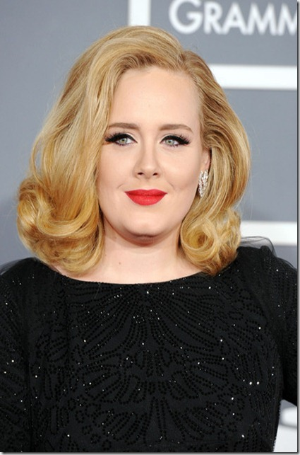 Adele 54th Annual GRAMMY Awards Arrivals xpmITsa-am0l