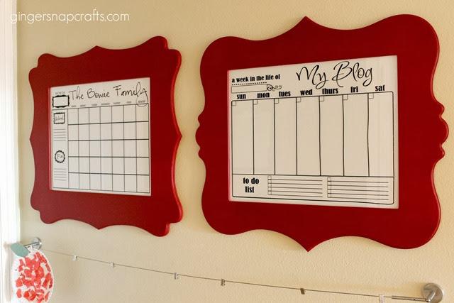 calendar frames #spon